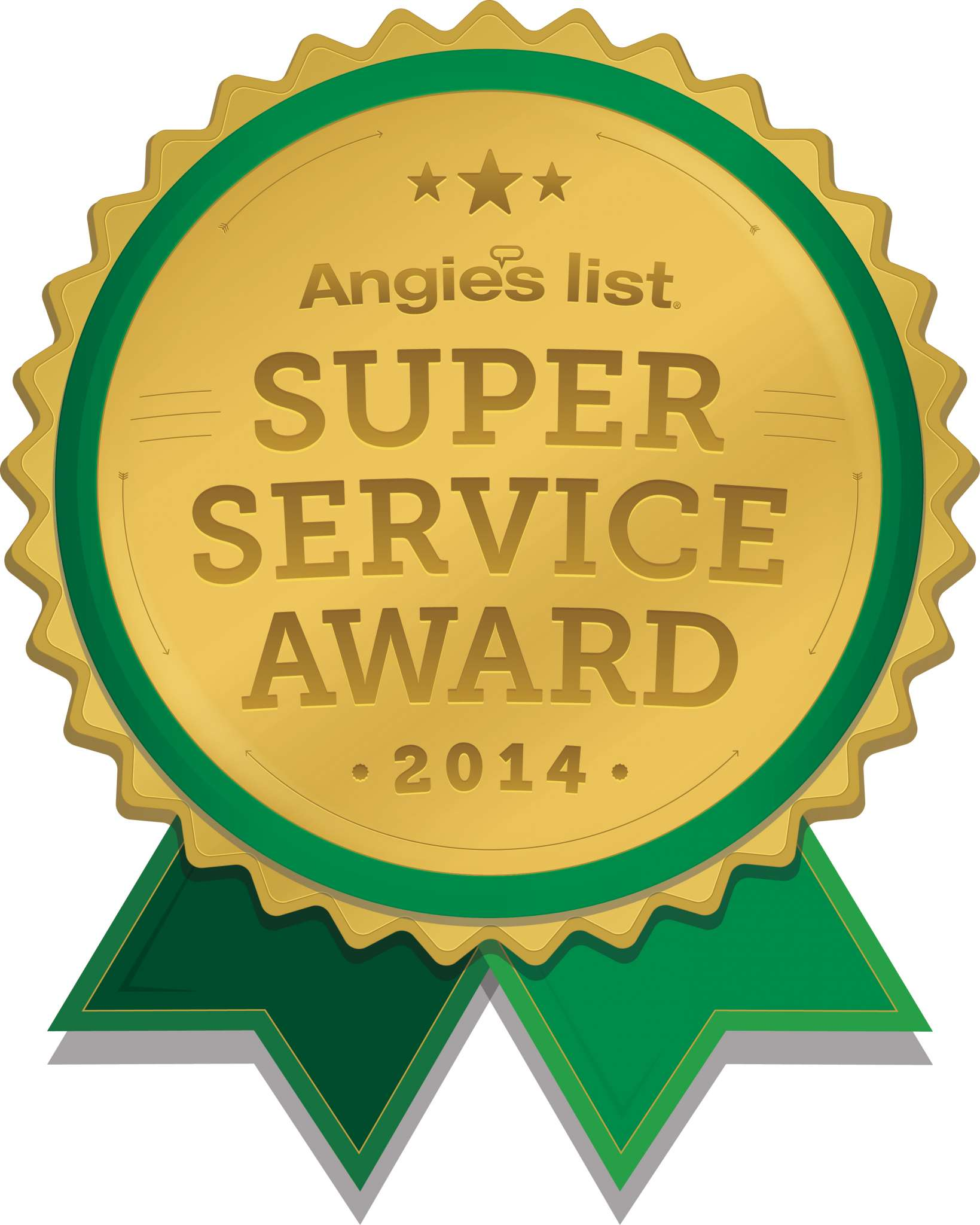 Angie's List-Super Service Award-Asheville landscaper