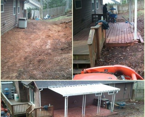 decking-handyman-Weaverville-landscaper