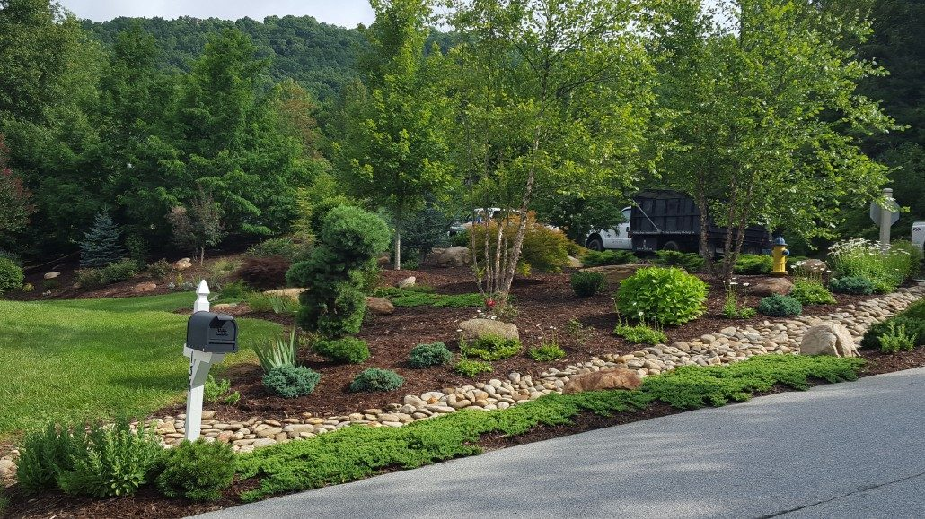 Landscape design build blueprints asheville for Landscape design build