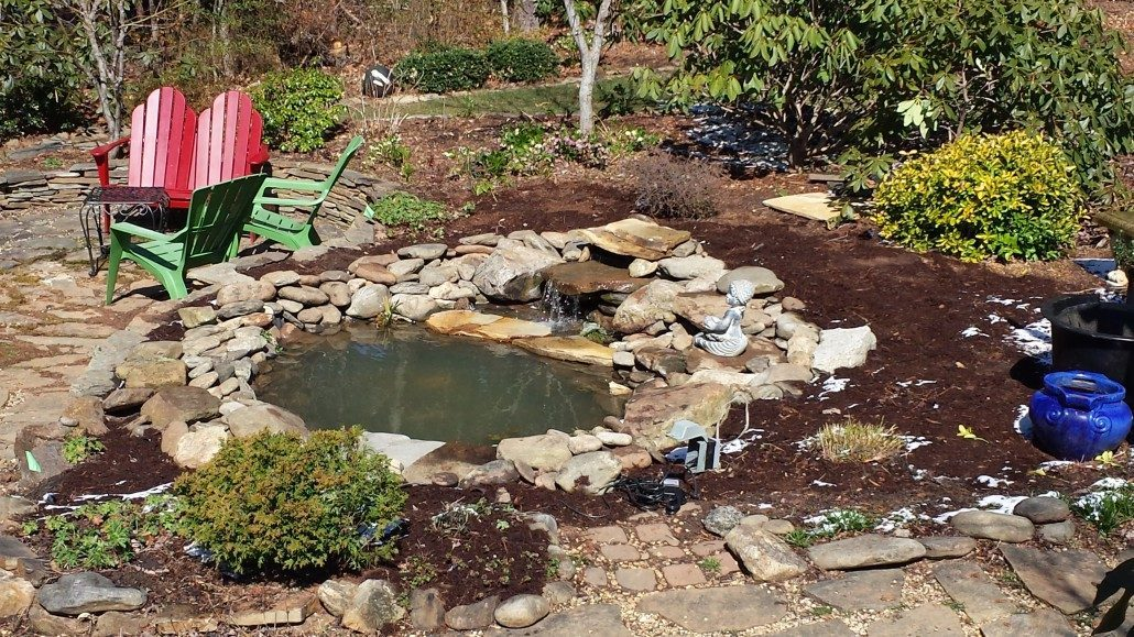 Water Features Custom Landscaping Asheville Nc