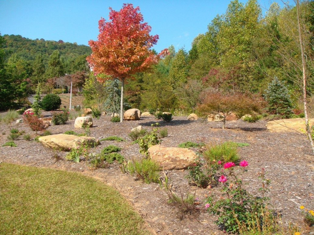 Landscaping Boulders Houston : About lawn n order landscaping asheville nc