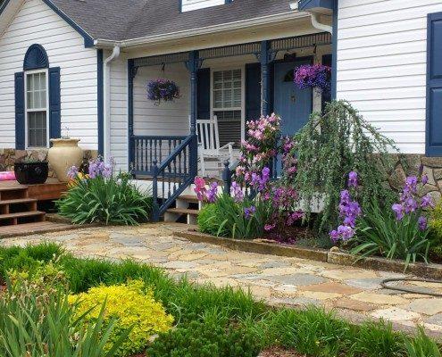 landscape-garden-walkway-Weaverville