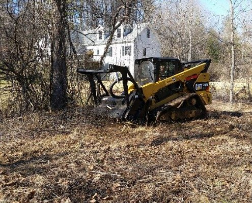 lot-land clearing-mulcher-forestry-Asheville