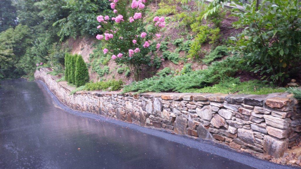 Retaining Wall Hillside Gardening Lawn N Order