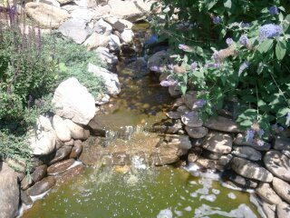 water feature-stonework-pond