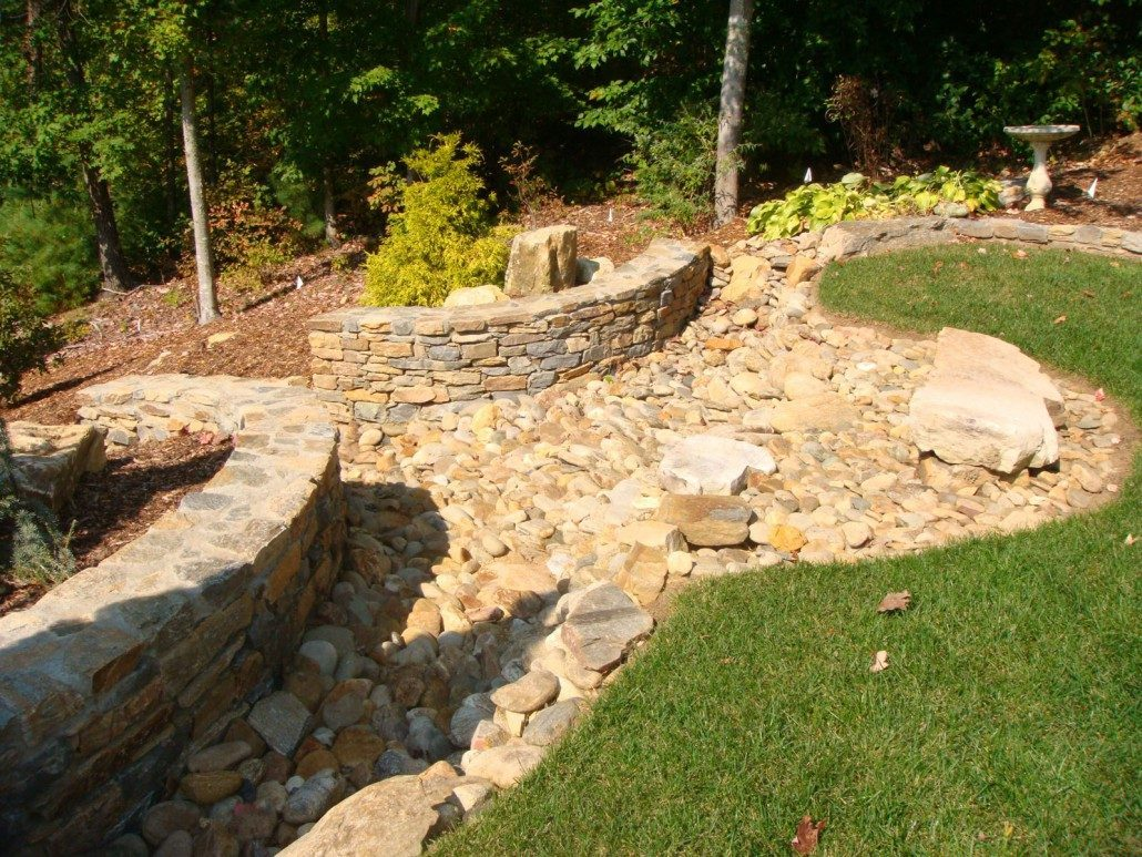 Nice Decorative Retaining Wall Vignette - The Wall Art Decorations ...