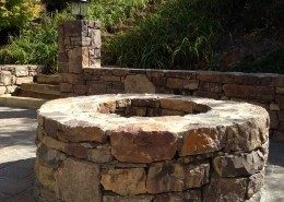 Copy of firepit-natural stone-Asheville-hardscape-patio-stonewall