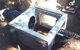 Drain Basin culverts