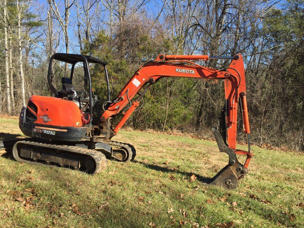 landscape rock removal machine
