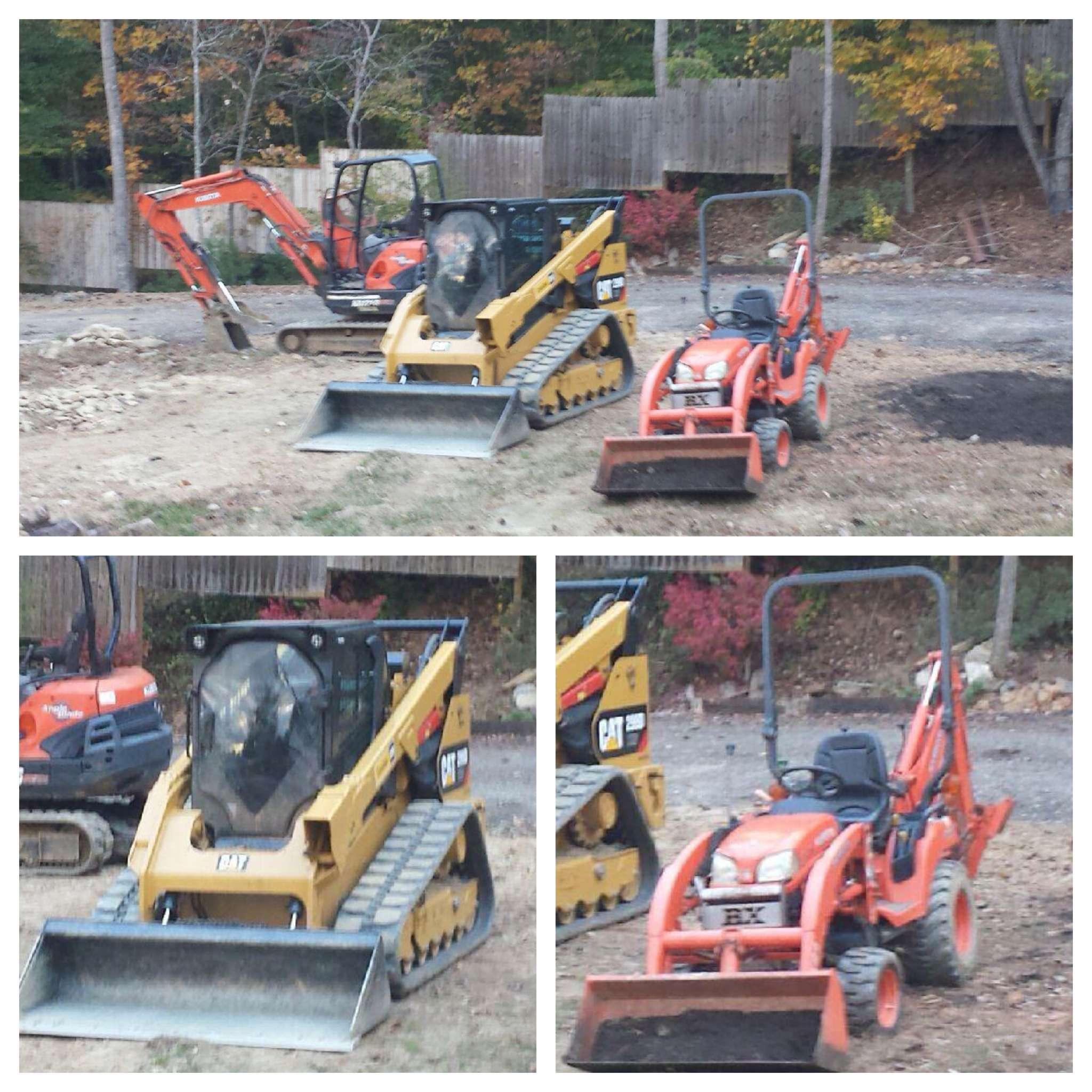Excavation & Grading Equipment-Lawn-N-Order Landscaping