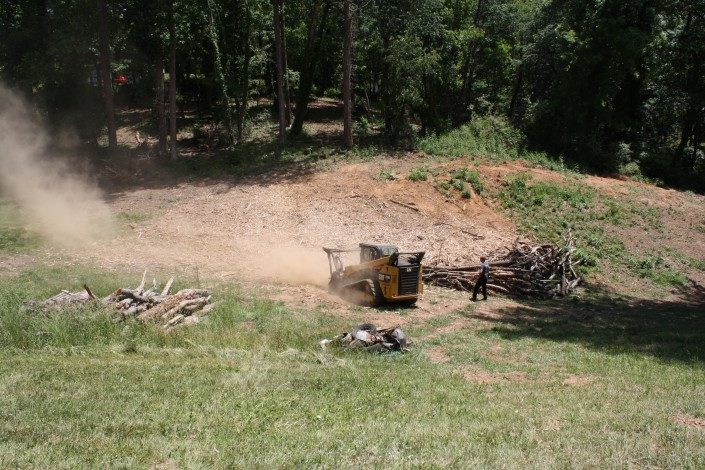 land-lot clearing-forestry mulching
