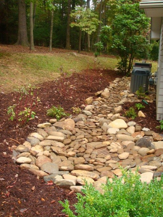 basement drainage-stormwater-Asheville-Biltmore Forest
