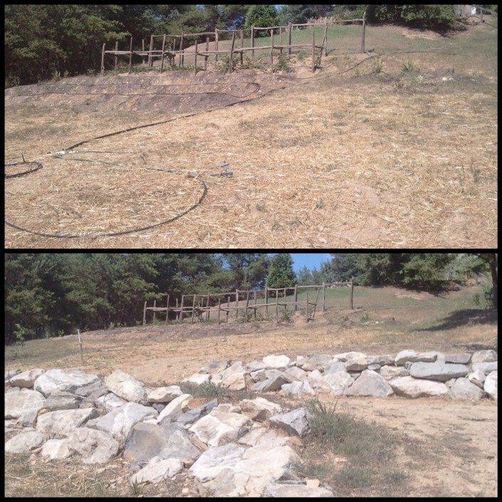 boulder-retaining-wall-Asheville-Lawn-N-Order