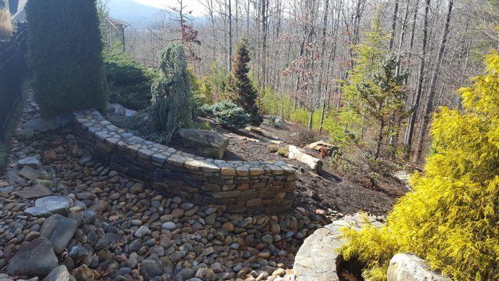masonry-stone-hillside gardening