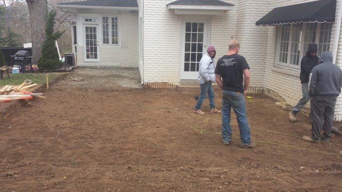 patio installation-backyard renovation-real estate improvements-Asheville-Buncombe