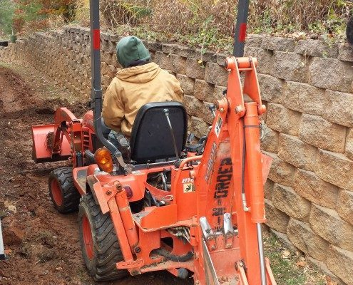 drainage-french drain-Lawn-N-Order Landscaping