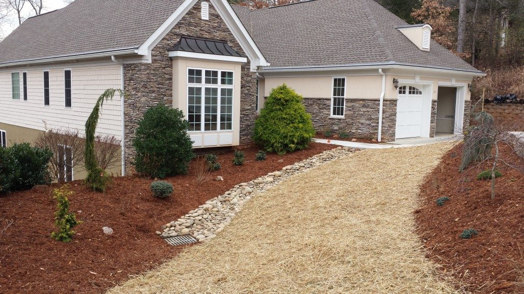 Decorative Yard Drainage : Decorative drainage case study lawn n order landscaping