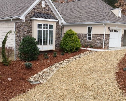 landscape-drainage-sidewalk-driveway