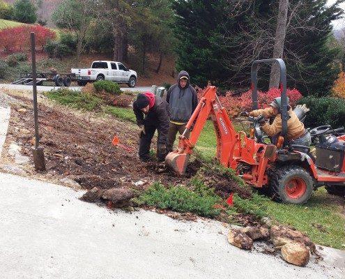 track hoe-drainage-mini excavator