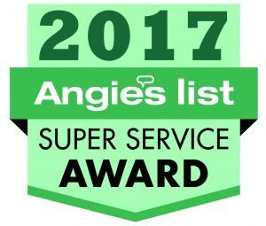 Angie's List 2017 Super Service Award