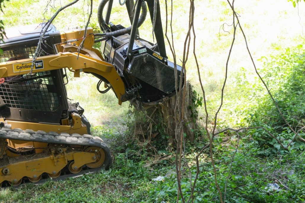 Land & Lot Clearing | Lawn-N-Order | Asheville